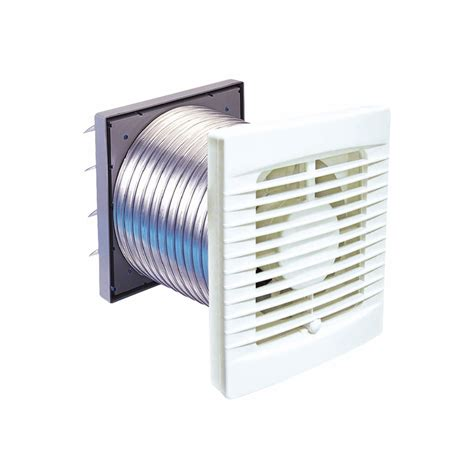 Exhaust Fans For Bathrooms Bunnings by Manrose 125mm White Wall Exhaust Fan Kit Bunnings Warehouse