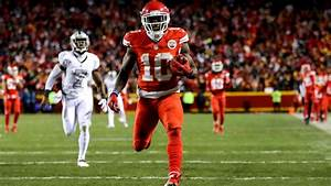 Kansas City Chiefs' Tyreek Hill dishes on his speed ...
