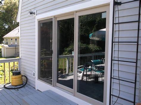 Sliding Glass Patio Door Installation  East Bridgewater