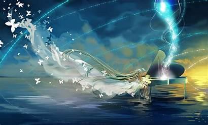 Miku Hatsune Space Ghost Sky Ship Butterfly