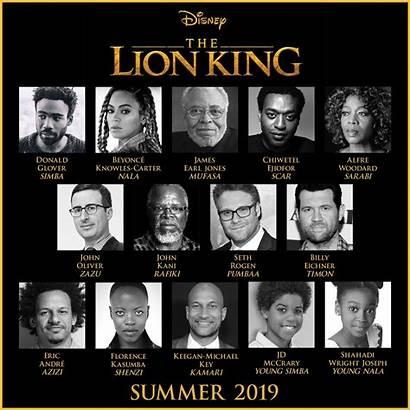 Lion King Cast Disney Star Assembles Favreau