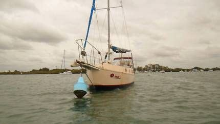 Sailing Boats For Sale Gumtree Australia by 9 14 M Steel Sail Boat Bilge Keel Must Be Sold Sail
