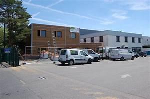 creation de bureaux prefabriques a caluire et cuire 69 With maison de l ecologie 1 bardage bois renovation de toit dans le 69 ossature