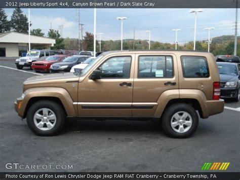 brown jeep liberty canyon brown pearl 2012 jeep liberty sport 4x4 dark
