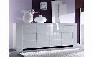 Buffet Blanc Pas Cher : buffet salon nouveau meuble blanc laque pas cher maison design modanes ~ Teatrodelosmanantiales.com Idées de Décoration