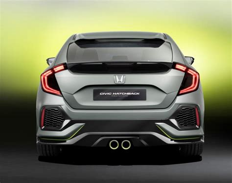 Honda Civic Hatchback Hd Picture by Honda Civic Hatchback Prototype Officially Unleashed At