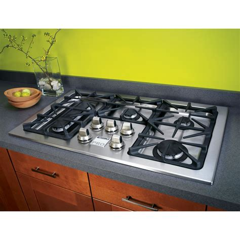 Gas Cooktop by Kenmore Pro 31013 36 Quot Gas Drop In Cooktop Stainless