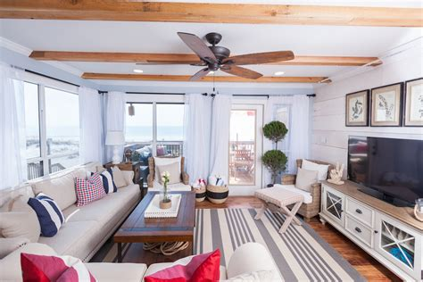 beach house living room decorating ideas hgtv design
