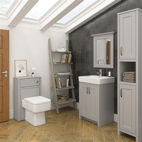 bathroom furniture ideas chatsworth traditional grey toilet unit at plumbing