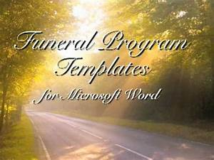 powerpoint memorial template free funeral program template With funeral slideshow template