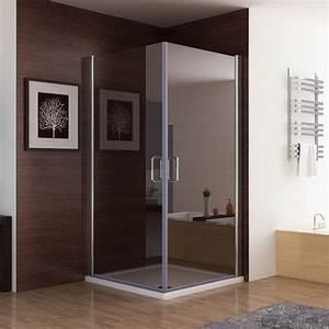 Dusche Folie Glas : 80x80x197cm duschkabine eckeinstieg dusche duscht r duschabtrennung echtglas nano glas zaf miqu ~ Frokenaadalensverden.com Haus und Dekorationen
