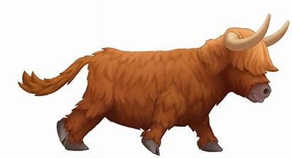 Yak Run Animals Cycle Gifs Running Animations