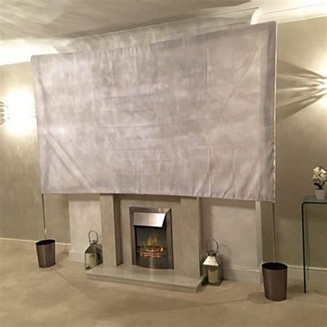 simple diy projector screen ideas   family