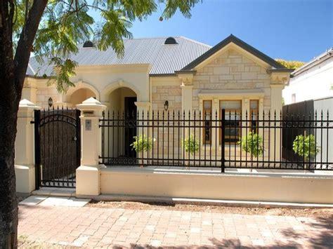 simple minimalist home iron fence design  home ideas