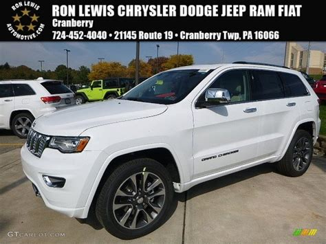 2017 Grand Overland by 2017 Bright White Jeep Grand Overland 4x4
