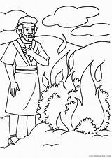 Moses Coloring Burning Bush Bible Sunday Crafts Printables Lessons Printable Tree Craft Preschool Momjunction Stories Southwestdanceacademy Seeing Ones sketch template