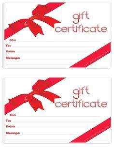 art business gift certificate template  images
