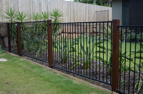metal fence designs pictures style ideas fences aluminium mode glass fencing balustrades australia hipages com au