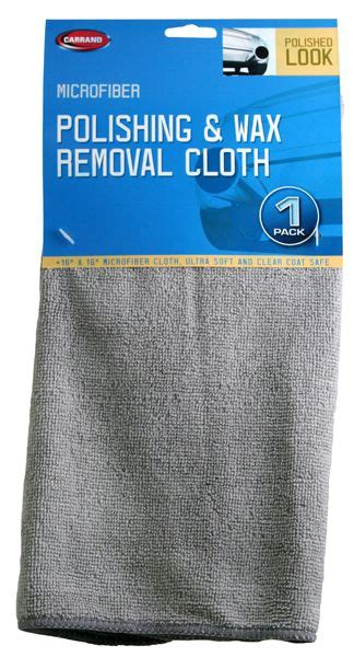 How To Remove Wax From Microfiber by Carrand Microfiber Wax Removal Cloth Che45069