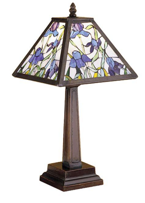 meyda  tiffany iris accent lamp