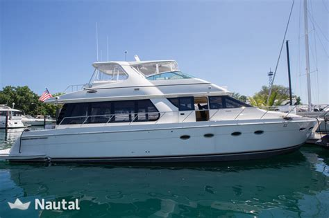 Chicago Boat Rentals Chicago Il Usa by Yacht Rent Carver 57ft In Belmont Harbor Chicago Nautal
