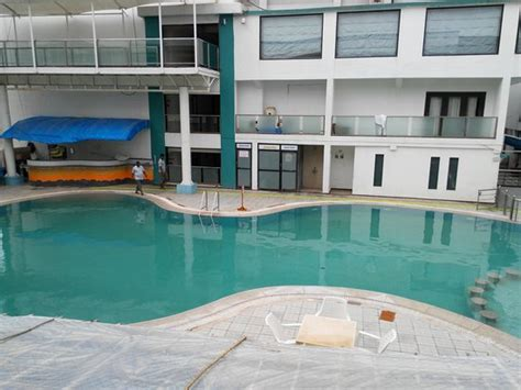The Swimming Pool  Picture Of Hotel Miramar, Daman