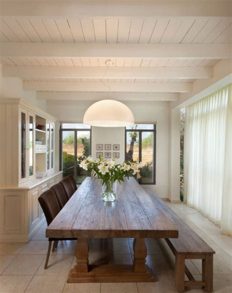 long dining room table designs
