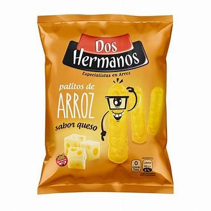 Snack Hermanos Dos Queso Arroz Palitos Gr