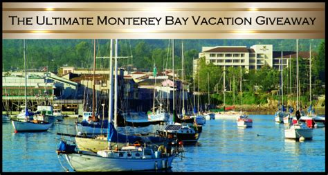 Decor Ultimate Getaway Sweepstakes by The Ultimate Monterey Bay Vacation Giveaway