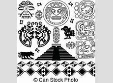Mesoamerican Ilustraciones de arte Vectorial 217