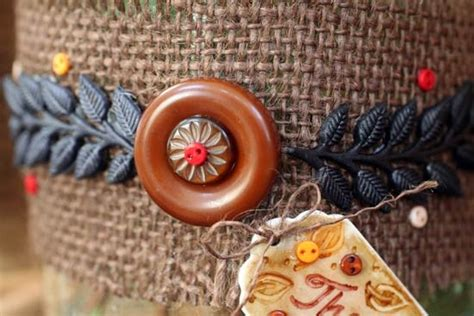 creative diy fall buttons craft ideas