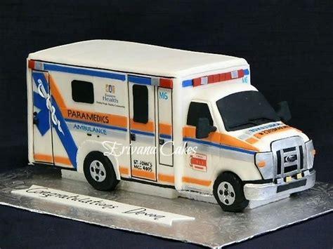ambulance cake     young man   dreamed