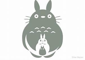 """O-Totoro, Chu-Totoro, Chibi-Totoro"" by Ethan Bayton"