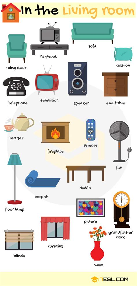 Furniture Vocabulary In English  Rooms In A House  7 E S L. Narrow Kitchen Storage Unit. Dark Red Kitchen Cabinets. Country Kitchen Grand Rapids Mn. How To Organize Plastic Containers In Kitchen. Kitchen Drawer Organizers Wood. Modern Kitchen Floor Plan. Red Kids Kitchen. European Modern Kitchen