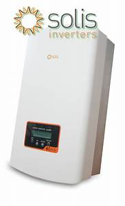 Solis 3 6kw 4g Inverter - Dual Mppt - Single Phase