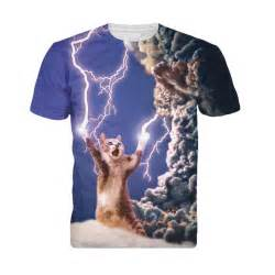 cat shirts 3d summer fashion thundercat t shirt fearless kitty cat