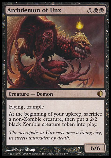 shadowborn apostle deck modern archdemon of unx magic the gathering card info