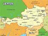 Austria Maps   Printable Maps of Austria for Download