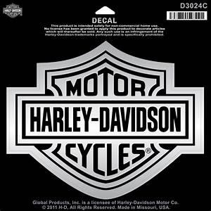 Harley Davidson Aufkleber : harley davidson aufkleber bar shield chrom xl im ~ Jslefanu.com Haus und Dekorationen