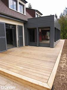 Extension Ossature Bois : extension en ossature bois et r am nagement d 39 une maison ~ Melissatoandfro.com Idées de Décoration