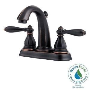 Pegasus Bathroom Faucet Leaking by Pfister Portola 4 In Centerset 2 Handle High Arc Bathroom