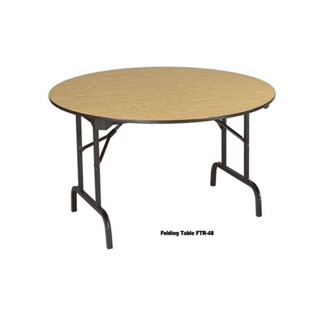 office furniture folding tables ftr48 round folding table vof office furniture design