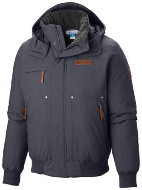 mens downward dash bomber warm insulated  jacket