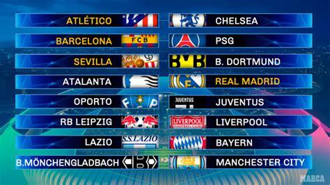 Partidazo por octavos de final de la Champions: Barcelona ...