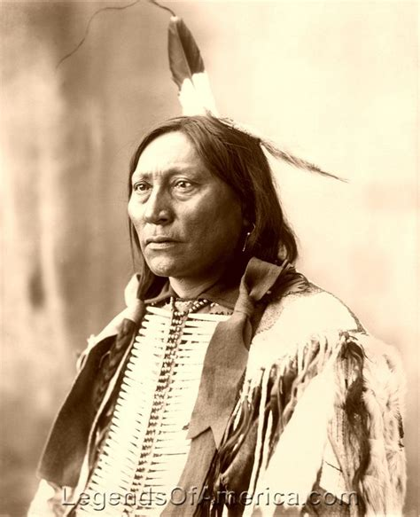brule sioux chief hollow horn bear  native