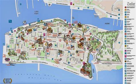 zadar map croatia slovenia en  croatia slovenia