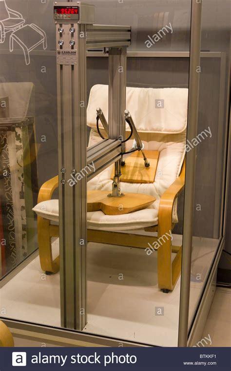 chair testing machine  ikea furniture warehouse store
