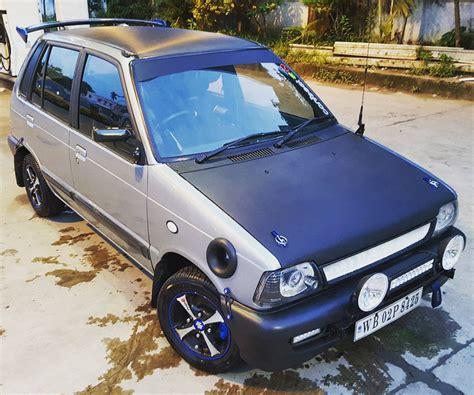 modified maruti suzuki cars modifiedx