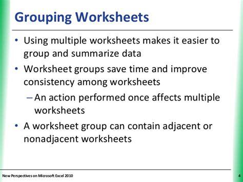 tutorial 6 multiple worksheets and workbooks