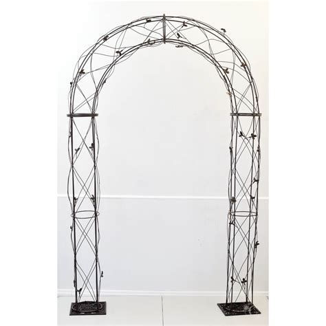 covers decoration hire metal arch julie